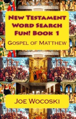 New Testament Word Search Fun! Book 1 Gospel of Matthew