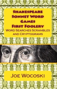 click here to buy Shakespeare Sonnet Word Games 1st Foolery