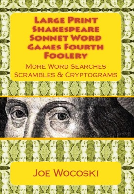 Large Print Shakespeare Sonnet Word Games Fourth Foolery