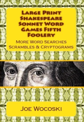 Large Print Shakespeare Sonnet Word Game Fifth Foolery