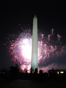 4th of July on the Mall