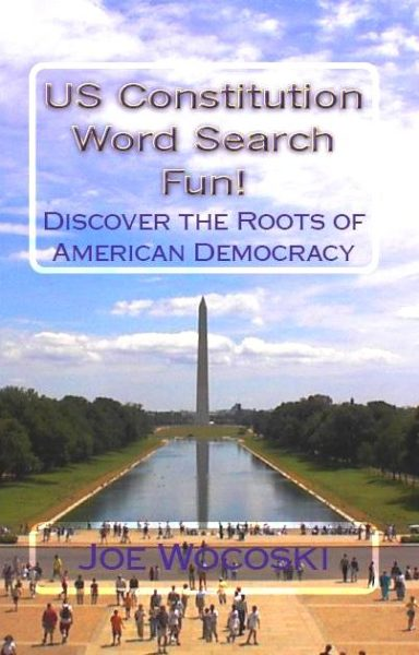 US Constitution Word Search Fun! Discover American Democracy