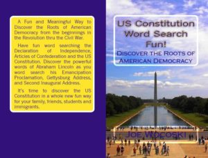 discover and learn about the constitution with this word search book